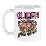 Queen of the Castle Crown Mother Mug
