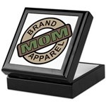 Mom Name Brand Apparel Logo Keepsake Box