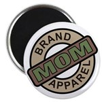 "Mom Name Brand Apparel Logo 2.25"" Magnet (100 pack"