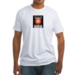 Out of this World Sci-Fi Mom Fitted T-Shirt