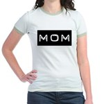 Dymo Black Label Me Mom Mother Jr. Ringer T-Shirt