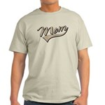 Baseball Swoosh Mom Mother's Light T-Shirt