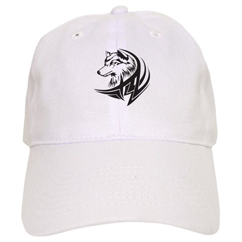 Tribal Wolf Tattoo Cap