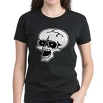 Screaming Skull Women's Dark T-Shirt