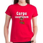 Carpe Vacationem f Women's Dark T-Shirt
