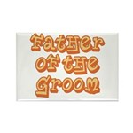 Father of the Groom Rectangle Magnet (100 pack)