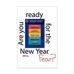New Year (fear) Mini Poster Print