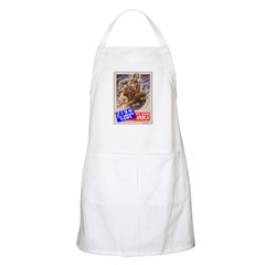 Out of the Way! BBQ Apron