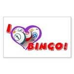 Bingo Rectangle Sticker