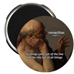 "Ancient Greek Philosophy: Heraclitus 2.25"" Magnet"
