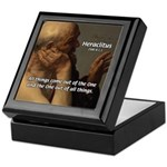 Ancient Greek Philosophy: Heraclitus Keepsake Box