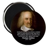 Thomas Hobbes: War 2.25&quot; Magnet (100 pack)