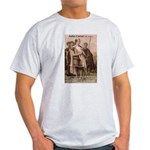 Julius Caesar Pictures Quotes Ash Grey T-Shirt