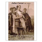 Julius Caesar Pictures Quotes Small Poster