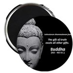 "Buddhist Religion: Gift of Truth 2.25"" Magnet (10"