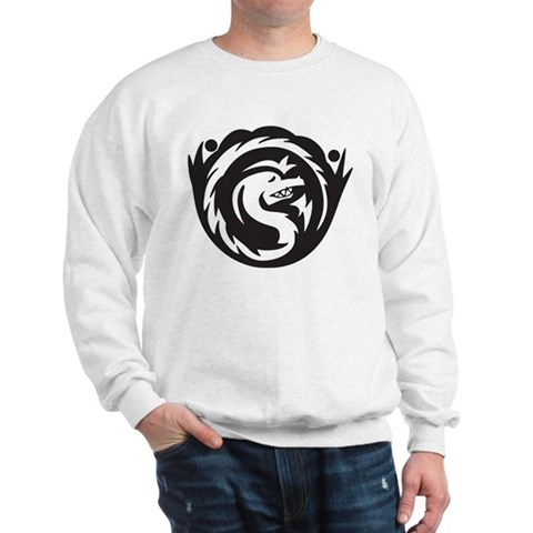 Serpent Tattoo Sweatshirt