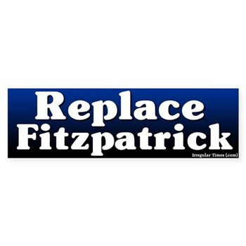 Replace Mike Fitzpatrick -- one of the weakest members of Congress -- bumper sticker
