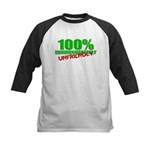 100% Environmentally Unfriend Kids Baseball Jersey