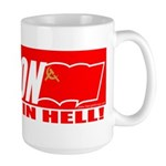 No Way In Hell Large Mug