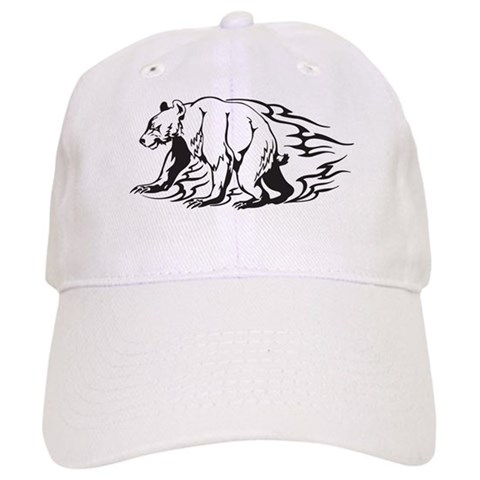 Bear Tattoo Cap