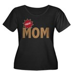 New Mom Mother First Time Women's Plus Size Scoop