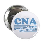 """CNA Sweatin' With The Oldies 2.25"""" Button (100 pac"""