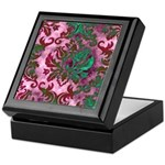 Jewel Damask Keepsake Box