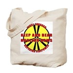 Peace Through Nuclear Weapons Tote Bag