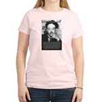 de Broglie: Quantum Waves Women's Pink T-Shirt