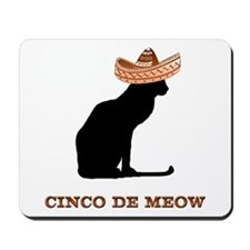 Cinco de Meow Mousepad