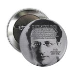 "Erwin Schrodinger One Reality 2.25"" Button (100 pa"