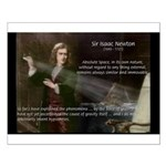 Sir Isaac Newton: Gravity Small Poster