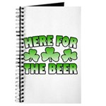 Here for the Beer Shamrock Journal