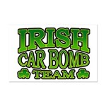 Irish Car Bomb Team Shamrock Mini Poster Print