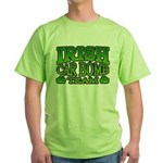 Irish Car Bomb Team Shamrock Green T-Shirt
