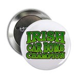 "Irish Car Bomb Champion Shamrock 2.25"" Button (10"