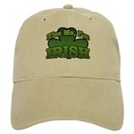 Kiss Me I'm Irish Shamrock Cap
