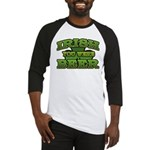 Irish You Were Beer Shamrock Baseball Jersey