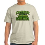 Irish You Were Beer Shamrock Light T-Shirt