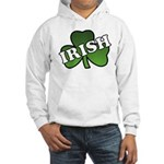 Green Shamrock Shamrock Hooded Sweatshirt