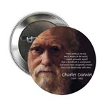 "Charles Darwin: God Creation 2.25"" Button (100 pac"