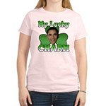 Obama My Lucky Charm Women's Light T-Shirt