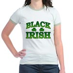 Once You go Irish You Never Go Back Jr. Ringer T-S