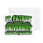 St. Patrick University School of Blarney Greeting