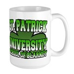 St. Patrick University School of Blarney Large Mug