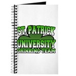 St. Patrick University Drinking Team Journal