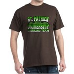 St. Patrick University Drinking Team Dark T-Shirt