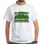 St. Patrick University Drinking Team White T-Shirt