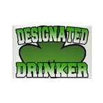 Designated Drinker Rectangle Magnet