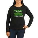 Team St. Patrick Women's Long Sleeve Dark T-Shirt